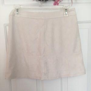 NWT Lulu's 60s vintage suede mini skirt